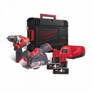 Набор Milwaukee M12 FPP2F-402X 4933471681