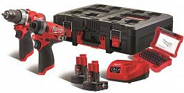 Набор Milwaukee M12 FPP2A-402P 4933471144