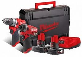 Набор Milwaukee M12 FPP2A-402X
