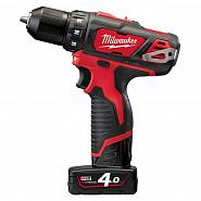 Акк. дрель/ш. Milwaukee M12BDD-402С (Li-Ion4Ач)